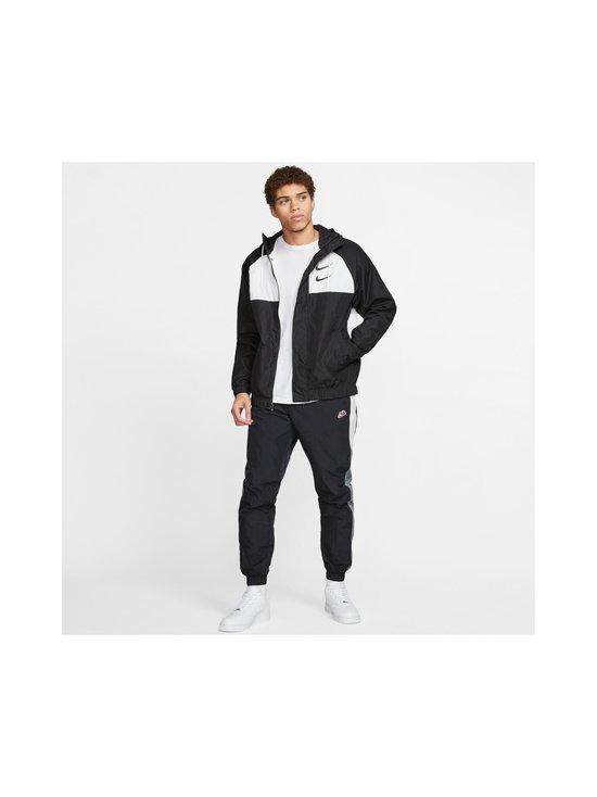 Nike - Swoosh Hooded -takki - 011 BLACK/WHITE/PARTICLE GREY/BLACK | Stockmann - photo 10
