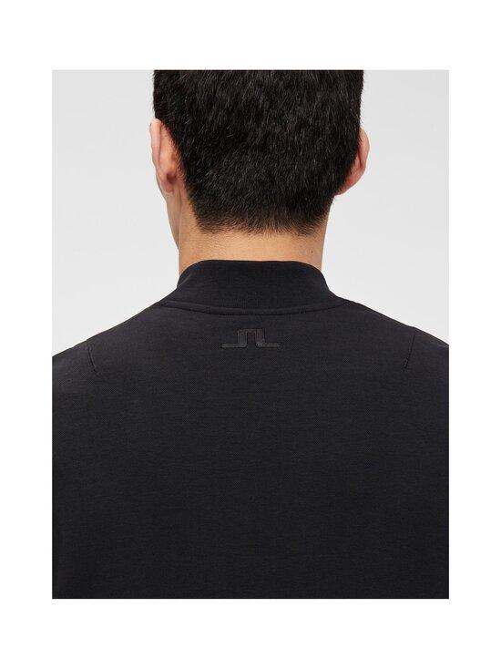 J.Lindeberg - Jersey Seth Bomber Sweat Jacket -collegetakki - 9999 BLACK | Stockmann - photo 6