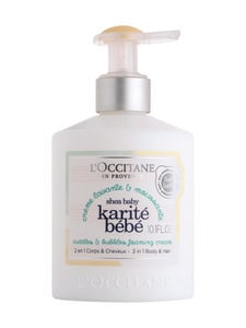 Loccitane - Shea Baby Foaming Cream -pesuneste 300 ml - null | Stockmann