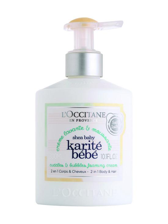 Loccitane - Shea Baby Foaming Cream -pesuneste 300 ml - NO COLOR | Stockmann - photo 1
