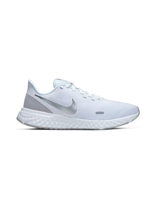 Nike - Revolution 5 -juoksukengät - 100 WHITE/WOLF GREY-PURE PLATINUM | Stockmann - photo 1