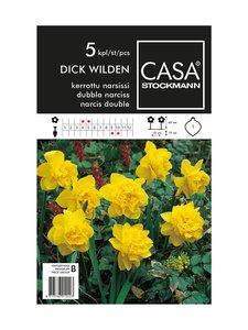 Casa Stockmann - Kerrottu narsissi -kukkasipulit - KELTAINEN | Stockmann