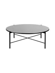Hakola - Round-pöytä 90 x 32 cm - MUSTA | Stockmann