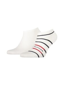 Tommy Hilfiger - Sneaker Breton Stripe -sukat 2-pack - WHITE 001   Stockmann
