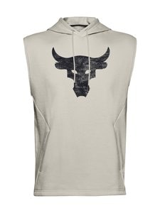 Under Armour - Projeckt Rock Sleeveless -huppari - 110 SUMMIT WHITE / / BLACK | Stockmann