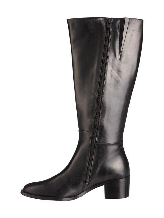 BIANCO - BiaCarol Long Extra Wide -nahkasaappaat - 100 BLACK | Stockmann - photo 2