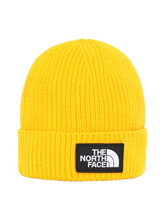 The North Face - Youth TNF Box Logo Cuff -pipo - 56P1 SUMMIT GOLD | Stockmann - photo 1