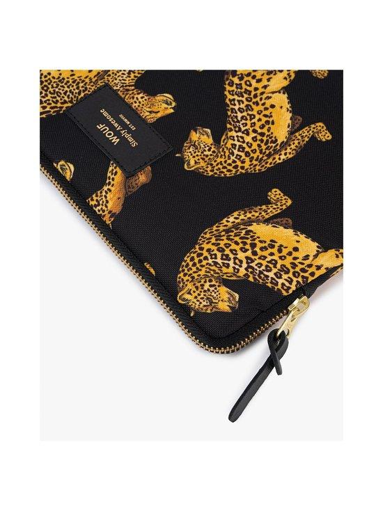 WOUF - Black Leopard iPad Sleeve -suojatasku tabletille - BLACK   Stockmann - photo 3