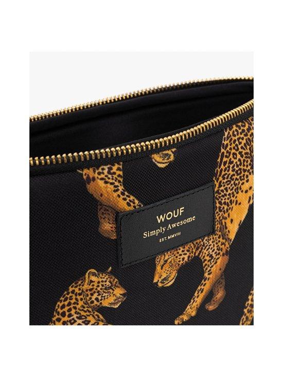 WOUF - Black Leopard iPad Sleeve -suojatasku tabletille - BLACK   Stockmann - photo 4