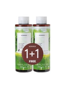 Korres - Basil Lemon -suihkugeeli 2 x 250 ml | Stockmann