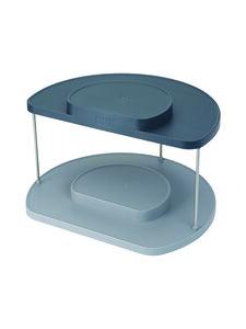 Joseph Joseph - CupboardStore 2-tier Rotating Organiser -teline keittiön kaappiin - BLUE | Stockmann