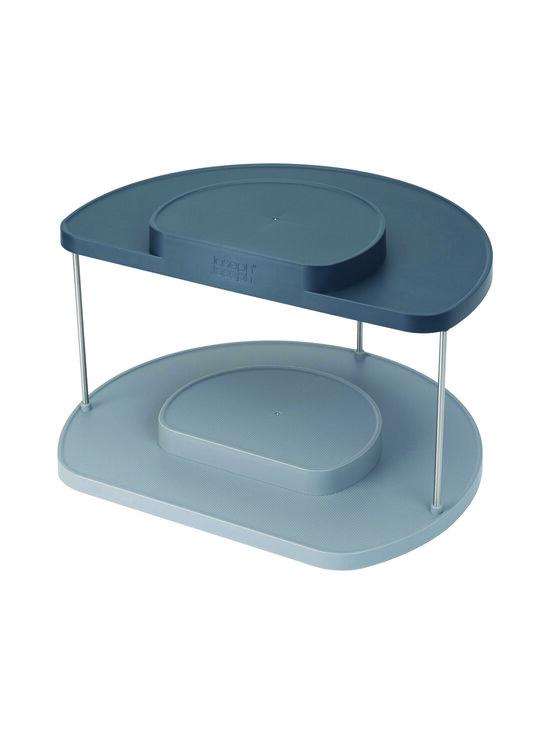 Joseph Joseph - CupboardStore 2-tier Rotating Organiser -teline keittiön kaappiin - BLUE   Stockmann - photo 1