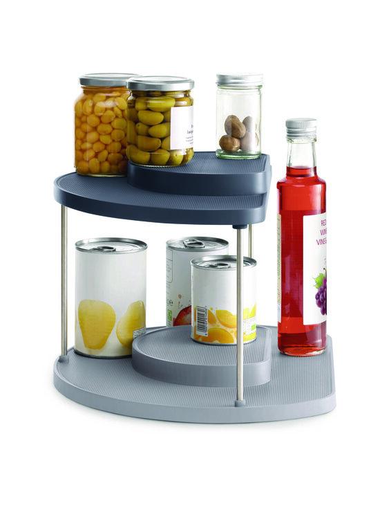Joseph Joseph - CupboardStore 2-tier Rotating Organiser -teline keittiön kaappiin - BLUE   Stockmann - photo 4