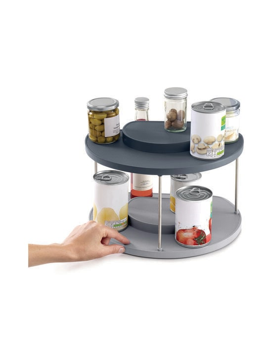 Joseph Joseph - CupboardStore 2-tier Rotating Organiser -teline keittiön kaappiin - BLUE   Stockmann - photo 5