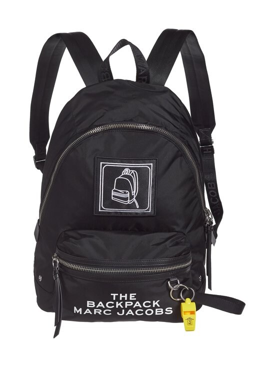 Marc Jacobs - The Pictogram Backpack -reppu - BLACK | Stockmann - photo 1