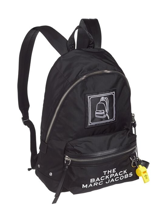 Marc Jacobs - The Pictogram Backpack -reppu - BLACK | Stockmann - photo 2