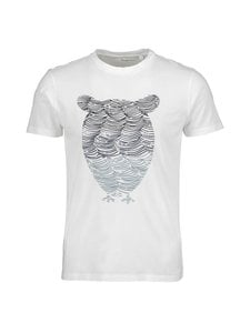 Knowledge Cotton Apparel - Alder Tee -paita - 1307 MOONLITE OCEAN   Stockmann