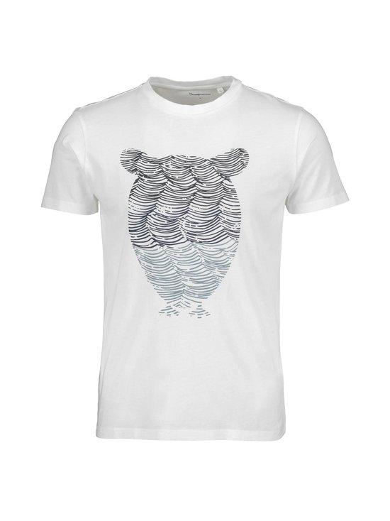 Knowledge Cotton Apparel - Alder Tee -paita - 1307 MOONLITE OCEAN | Stockmann - photo 1