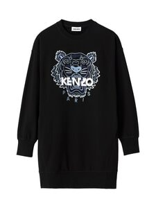 Kenzo - Classic Tiger Sweatshirt Dress -collegemekko - 99 BLACK | Stockmann