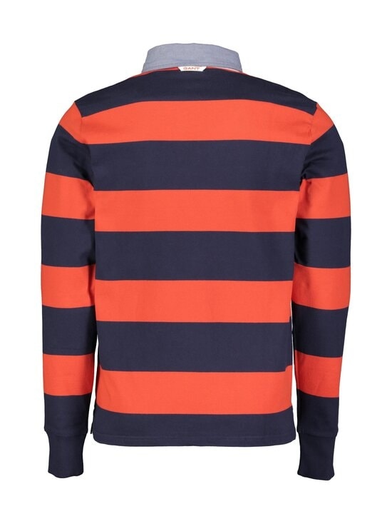 GANT - Original Barstripe Heavy Rugger -paita - 667 LAVA RED | Stockmann - photo 2