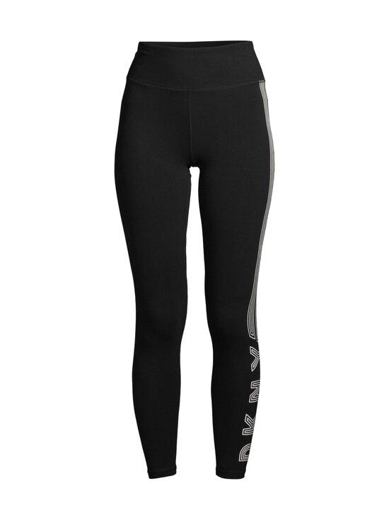 DKNY Sport - Track Logo High Waist -leggingsit - BLW BLK/WHT   Stockmann - photo 1