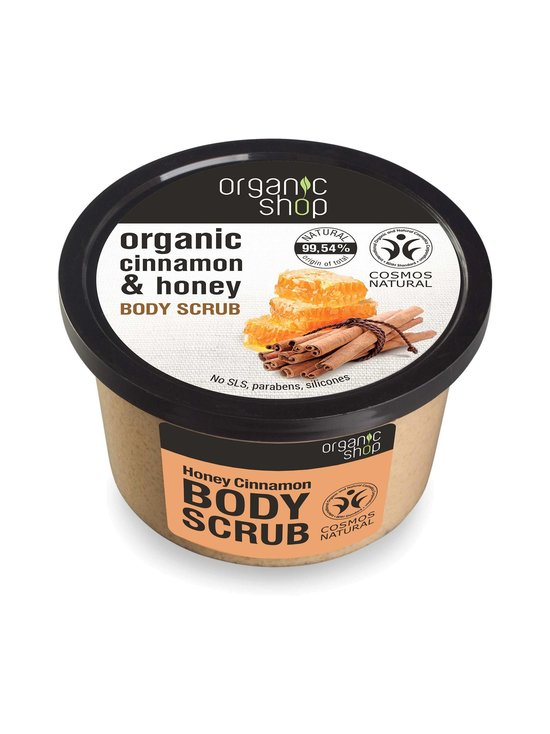 Organic Shop - Honey Cinnamon Body Scrub -vartalokuorinta 250 ml - null | Stockmann - photo 1