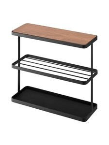 Yamazaki - Tower End Table with Storage -sivupöytä - BLACK | Stockmann