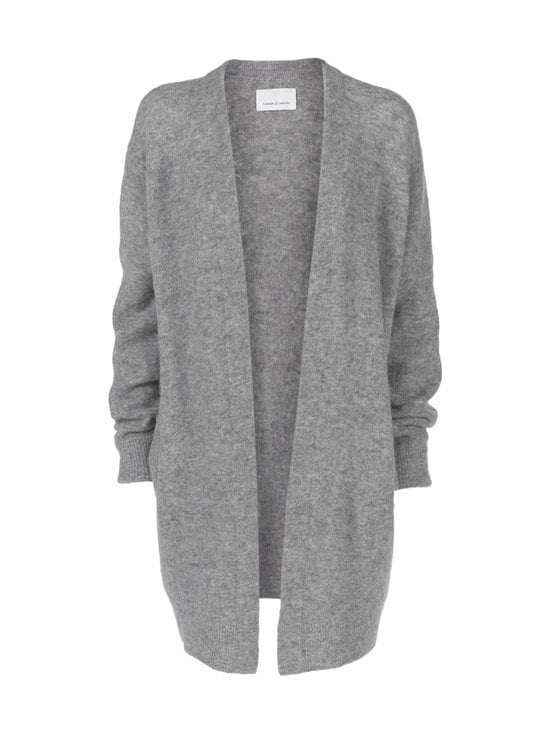 Samsoe & Samsoe - Nor-neuletakki - GREY MELANGE | Stockmann - photo 1