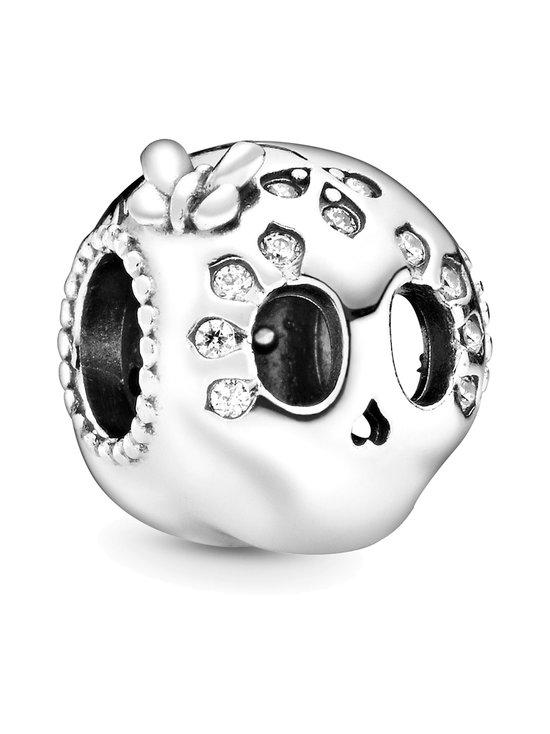 Skull Silver Charm -koru