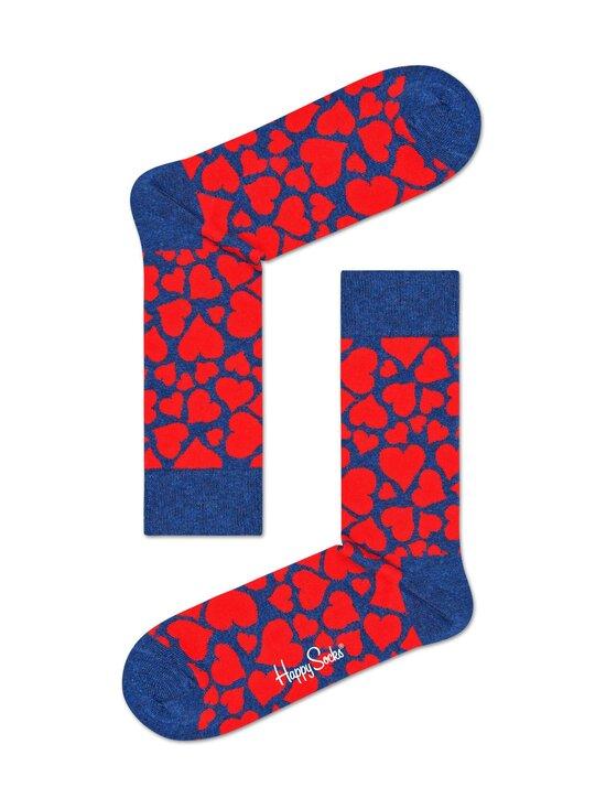 Happy Socks - Heart-sukat - 6500-BLUE | Stockmann - photo 1