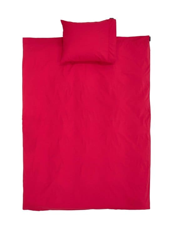 Lexington - Red Washed Cotton -pussilakanasetti 150 x 210 cm + 50 x 60 cm - RED   Stockmann - photo 1