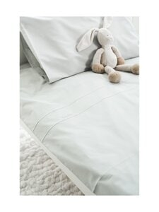 LUIN LIVING - Baby-pussilakanasetti 85 x 125 + 35 x 45 cm - PEARL GREY | Stockmann