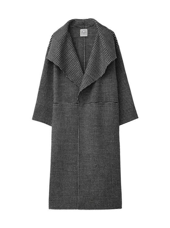 Totême - Signature Wool Cashmere Coat -villakangastakki - HOUNDSTOOTH   Stockmann - photo 1