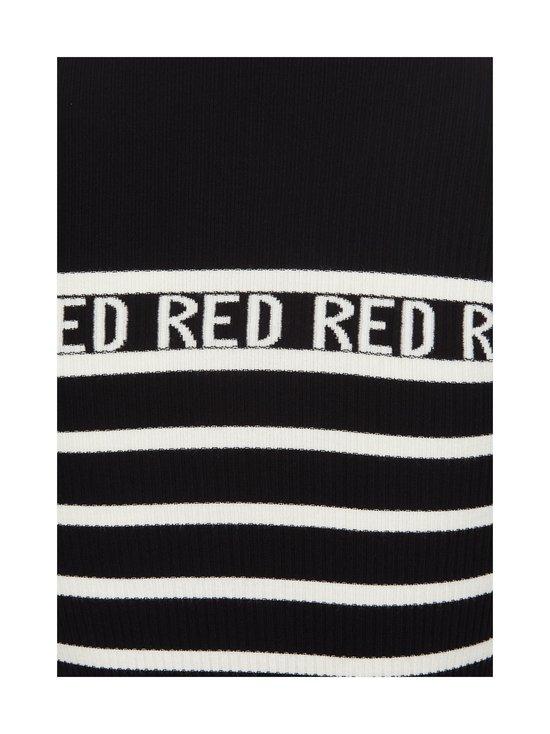 RED Valentino - Stripe-neule - 0NA BLACK CBO | Stockmann - photo 3