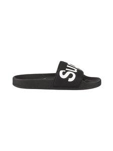 Superga - Eva-sandaalit - 910 BLACK WHITE | Stockmann