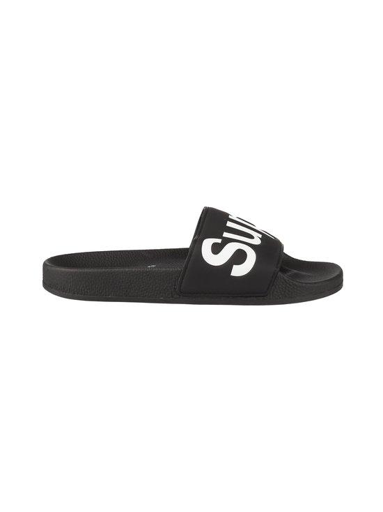 Superga - Eva-sandaalit - 910 BLACK WHITE | Stockmann - photo 1