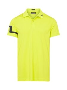 J.Lindeberg - Heath Regular Fit Golf Polo -pikeepaita - M100 LEAF YELLOW | Stockmann