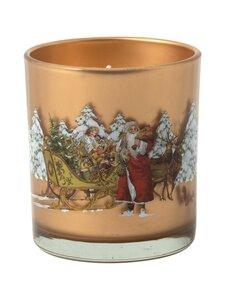 Villeroy & Boch - Winter Specials Votive Santa With Sleigh -kynttilä - MULTICO   Stockmann