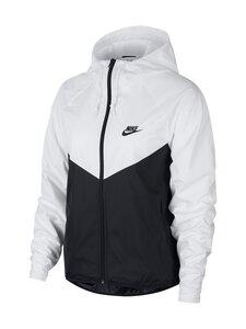 Nike - Windrunner-takki - 101 WHITE/BLACK/BLACK | Stockmann