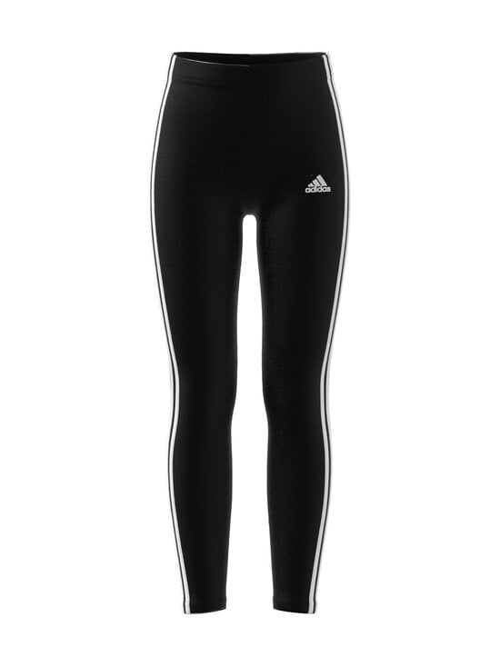 adidas Performance - ESSENTIALS 3 STRIPES -leggings - BLACK/WHITE | Stockmann - photo 1