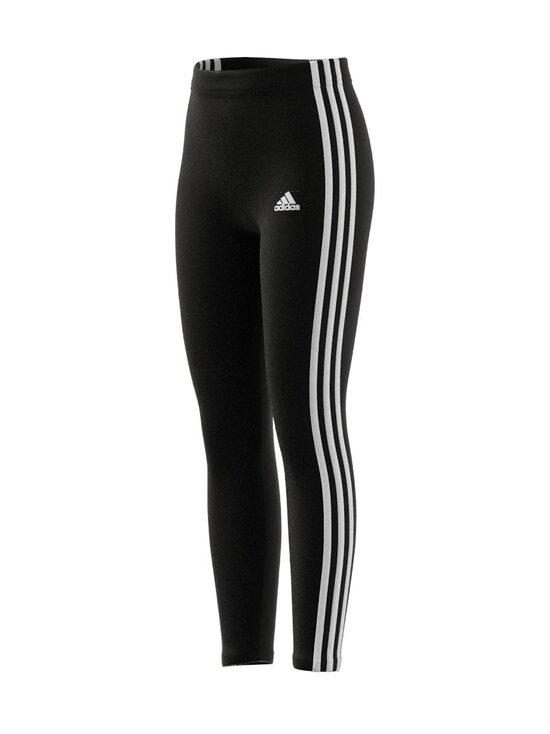 adidas Performance - ESSENTIALS 3 STRIPES -leggings - BLACK/WHITE | Stockmann - photo 4