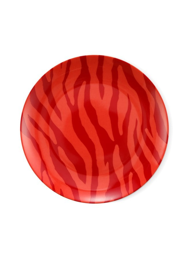 Breakfast Plate Zebra Stripes -lautanen 21,5 cm