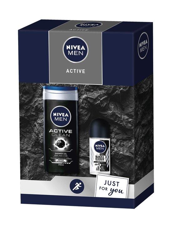 NIVEA MEN - Men Active Gift Set -lahjapakkaus - NOCOL | Stockmann - photo 1