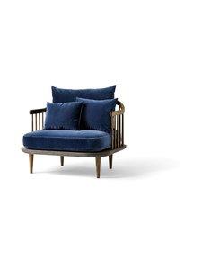 &tradition - Fly SC1 -tuoli - SMOKED OILED OAK / DARK BLUE   Stockmann