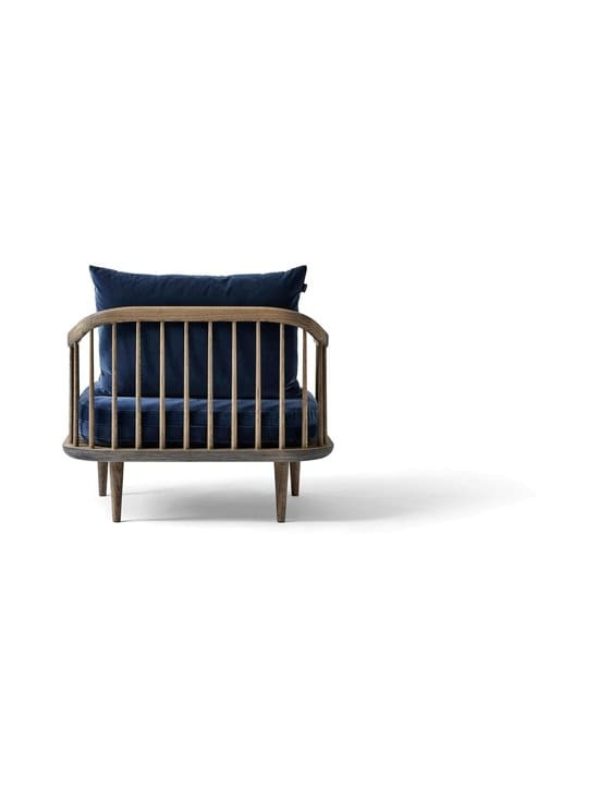 &tradition - Fly SC1 -tuoli - SMOKED OILED OAK / DARK BLUE | Stockmann - photo 2