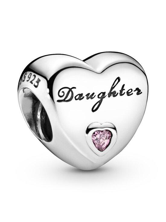 Pandora - Daughter Heart Silver Charm - SILVER | Stockmann - photo 1