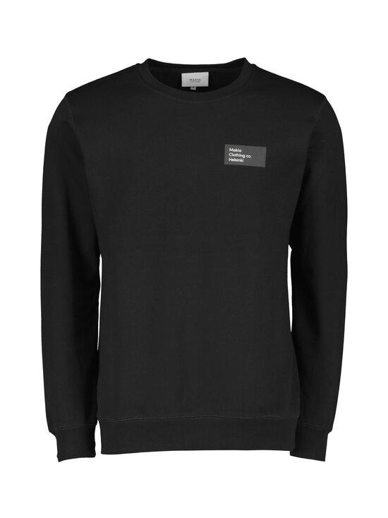 Makia - Pontus Light Sweatshirt -collegepaita - 999 BLACK | Stockmann - photo 1