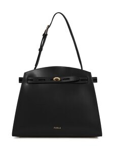 Furla - Margherita M Shoulder Bag -nahkalaukku - O6000 NERO | Stockmann