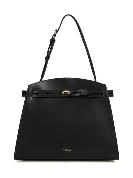 Furla - Margherita M Shoulder Bag -nahkalaukku - O6000 NERO | Stockmann - photo 1