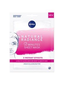NIVEA - Natural Radiance Sheet Mask -kasvonaamio 1 kpl   Stockmann